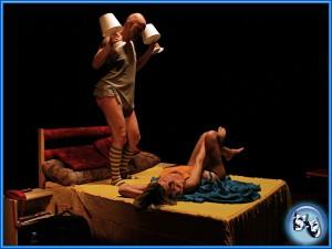 Divadlo VeTři - Orgasmus bez předsudků - grafika